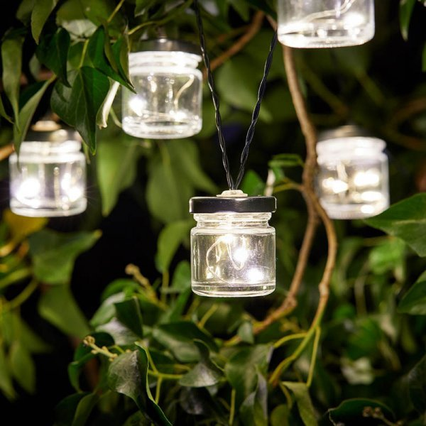 Firefly Jar String Lights