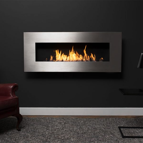 Icon Nero Slimline Fireplace