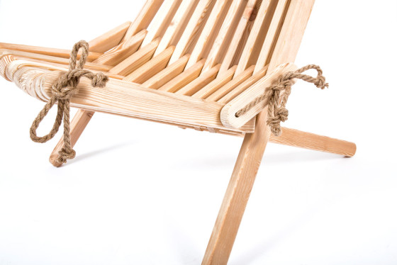 Lazy Chair rope detail