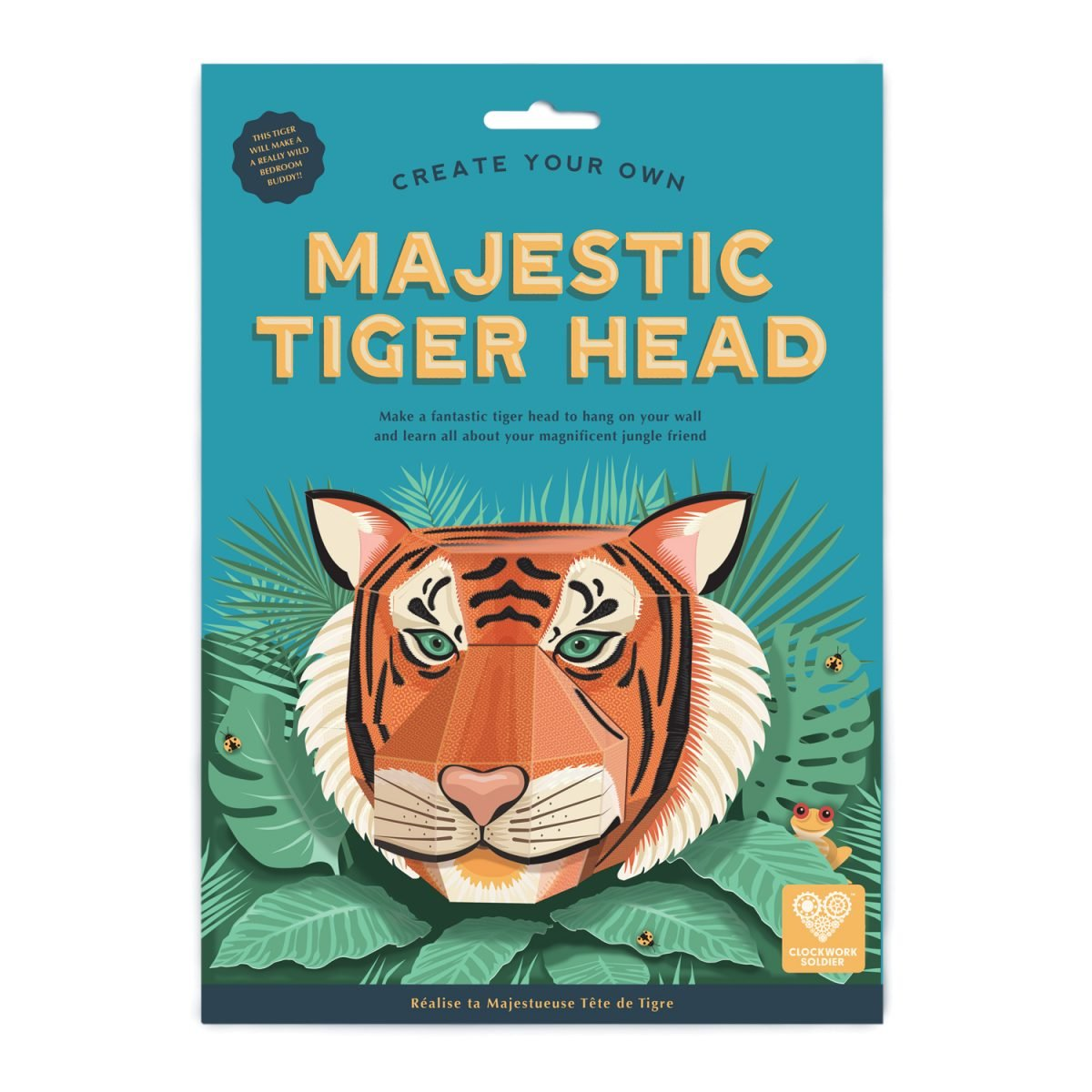 Build your own Tiger Head