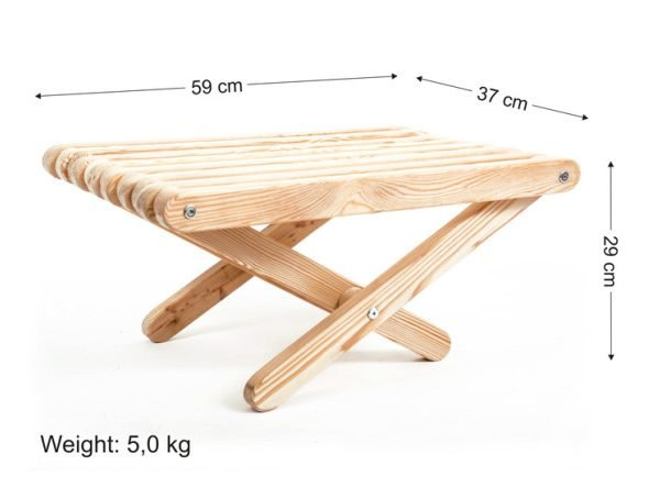 Larix Lazychair table