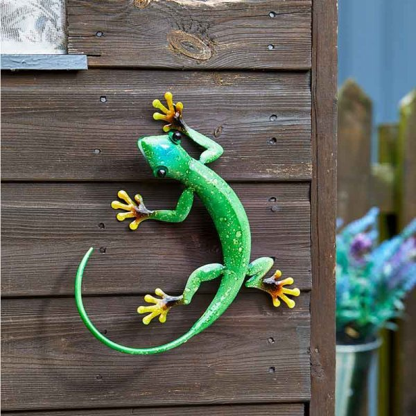 Gecko Emerald Decor