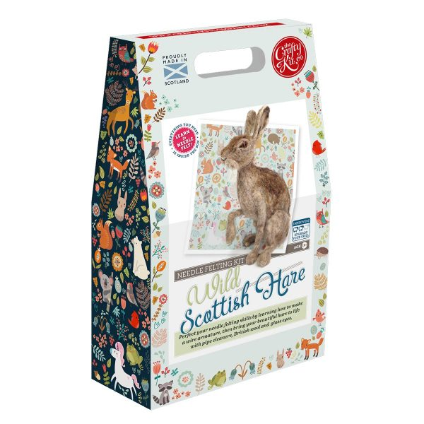 Wild Scottish Hare Crafting Kit