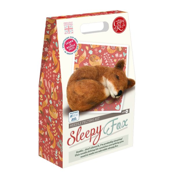 Sleepy Fox Crafting Kit