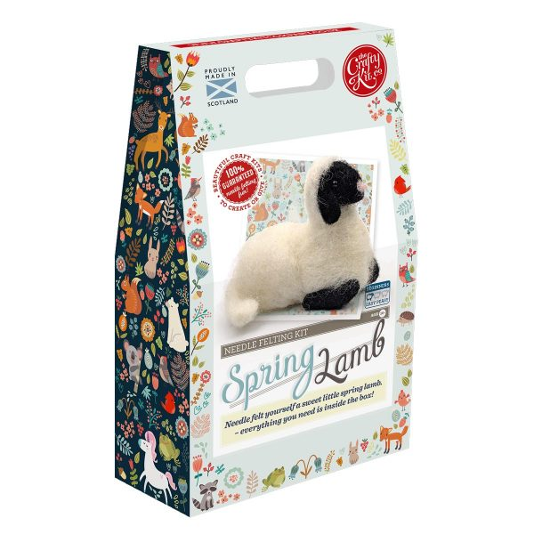 Spring Lamb Crafting Kit