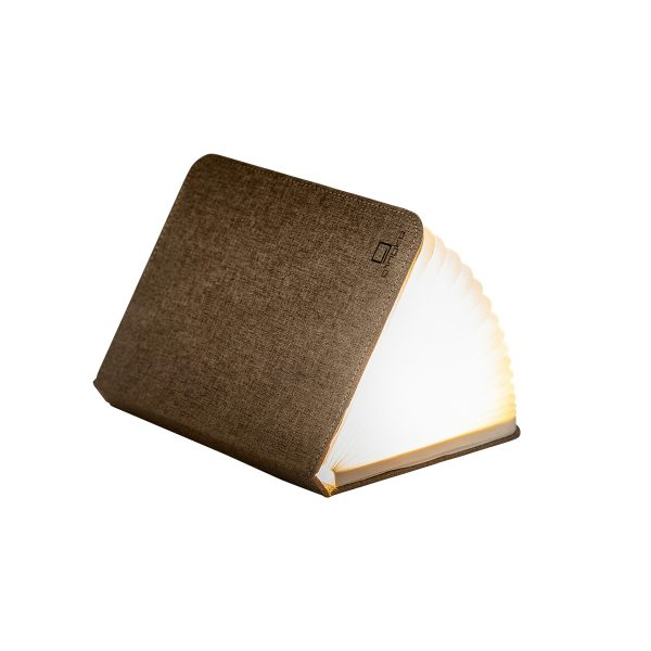 Gingko Large Coffee Brown Smart Book Light
