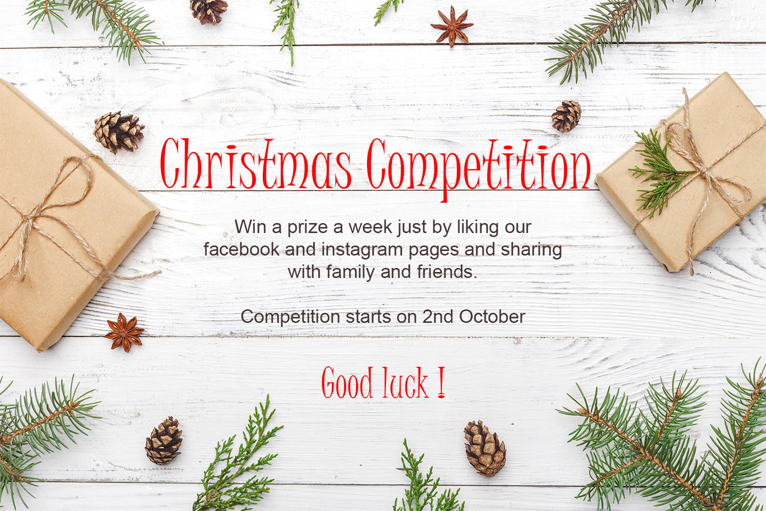 Christmas Competition